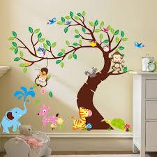Forest Nursery Wall Decals by Baby Nursery Ba Forest Animals Nursery Dromhfitop In Baby