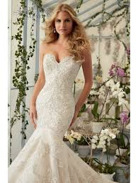 fishtail wedding dress mori 2801 beautiful lace fish wedding gown ivory