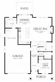 craftsman style house plan 3 beds 2 50 baths 2211 sq ft plan 48 458