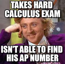 Calculus Meme - takes hard calculus exam on memegen
