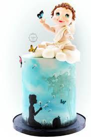 Angel Decorated Cake Bespoke Celebration Cakes U2013 Estrele Cakes