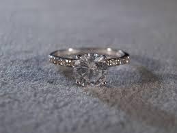 white topaz engagement ring trendy white topaz engagement rings svapop wedding