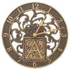 Pottery Barn Outdoor Clock Outdoor Clocks You U0027ll Love Wayfair