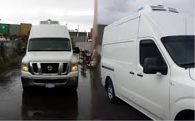 nissan nv2500 vancouver nissan nv2500 var150 cold delivery cargo reefer van