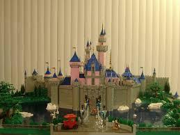 craziest architecture beautiful lego replica sleeping beauty