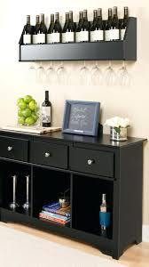 Floating Bar Table Wine Rack Glass Pub Table With Wine Rack Sideboard With Wine