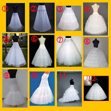 underskirts for wedding dresses wedding petticoat ebay