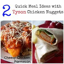 Dinner Ideas Using Chicken Two Quick And Easy Dinners With Tyson Chicken Nuggets Food