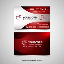 Red Business Cards Business Card Vectors Photos And Psd Files Free Download
