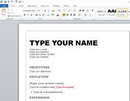 resume templates microsoft word 2010 resume template resume template microsoft word 2010 free career