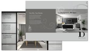 interior design brochure template trifold brochure v6 25 best