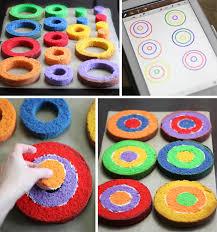 lemony rainbow checkerboard cake sprinkle bakes