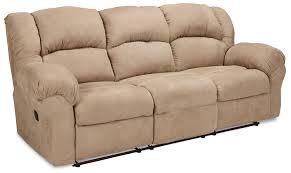 decker reclining sofa camel levin furniture