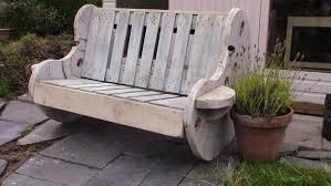 Wood Garden Bench Diy by How To Build A Garden Bench From A Wooden Cable Reel Diy