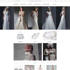 Bridal Shop Wedding Shop Templates Templatemonster