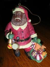 black santa yard ornament pictures to pin on thepinsta