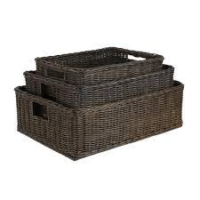 cane laundry hamper wicker baskets decorative baskets u0026 woven baskets the basket lady