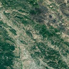 California Wildfires Valley Fire by Wildfire Scars California Towns Natural Hazards