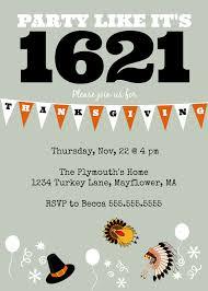 thanksgiving party invite diy printable thanksgiving u0027party like it u0027s 1621 u0027 invite