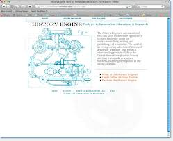 history engine creating a writing assignment for the digital age