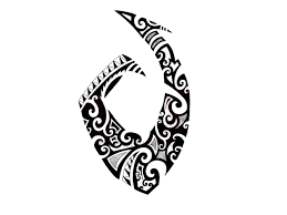 hook tattoos fresh black polynesian hook tattoo design real photo pictures