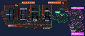 Anaheim Convention Center Floor Plan Blizzcon 2017 Floor Plan 와우헤드 뉴스 월드 오브 워크래프트