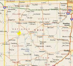 ohio map of cities map of ohio cities