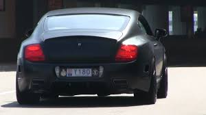 black bentley matte black mansory bentley continental gt in monaco youtube