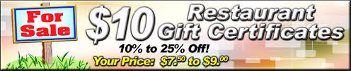 discounted restaurant gift cards restaurant gift certificate discounts new bedford dartmouth