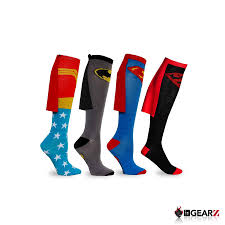 knee high halloween socks batman socks with cape ebay