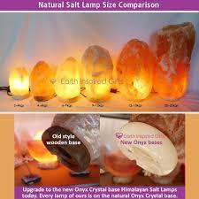 himalayan salt rock light a natural himalayan salt l with crystal base sydney salt ls