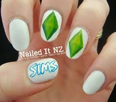 the sims nail art tutorial
