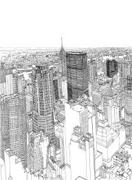 patrick vale u0027s colossus timelapse drawing of new york city