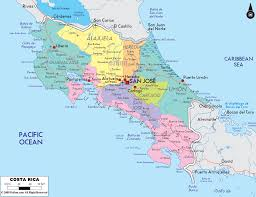 Central America And Caribbean Map by El Mapa De Costa Rica Heredia U003c3 Costa Rica Pinterest Costa
