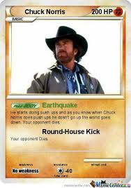 Pokemon Card Meme - chuck norris pokemon card by themememaster24 meme center
