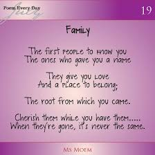 35 loving family poems