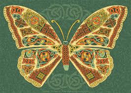 celtic butterfly by foxvox on deviantart