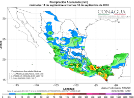 Mexico Precipitation Map by Mexico U2013 Floodlist