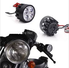 led lights for motorcycle for sale sale pair 4 led lights scooter motorcycle headlight motocicleta fog