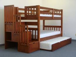 3 Bunk Bed Set Bedz King Stairway Bunk Bed With Trundle