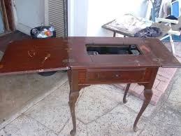 Singer Sewing Machine With Cabinet by Restored Singer Sewing Machine Cabinet Collectors Weekly