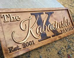 monogrammed anniversary gifts wood anniversary etsy