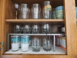 how to organize a kitchen cabinet