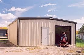 backyard garage garages metal building kits olympia steel buildings
