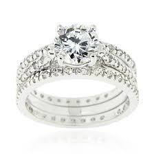 engagement sets cubic zirconia engagement ring sets