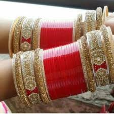 wedding chura bangles shahihandicraft wedding chura rs 2999 set shahi handicraft id