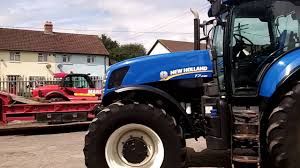 new holland t7 235 powercommand 40kph c w front linkage u0026 pto