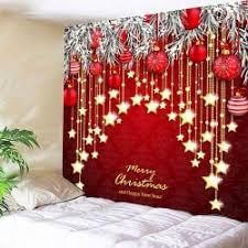 christmas wall decor w79 inch l59 inch wall decor christmas and print