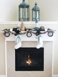 amusing home christmas fireplace design inspiration showing
