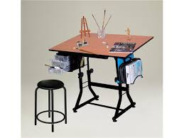 Drafting Craft Table Offex Black Creative And Craft Hobby Drawing Or